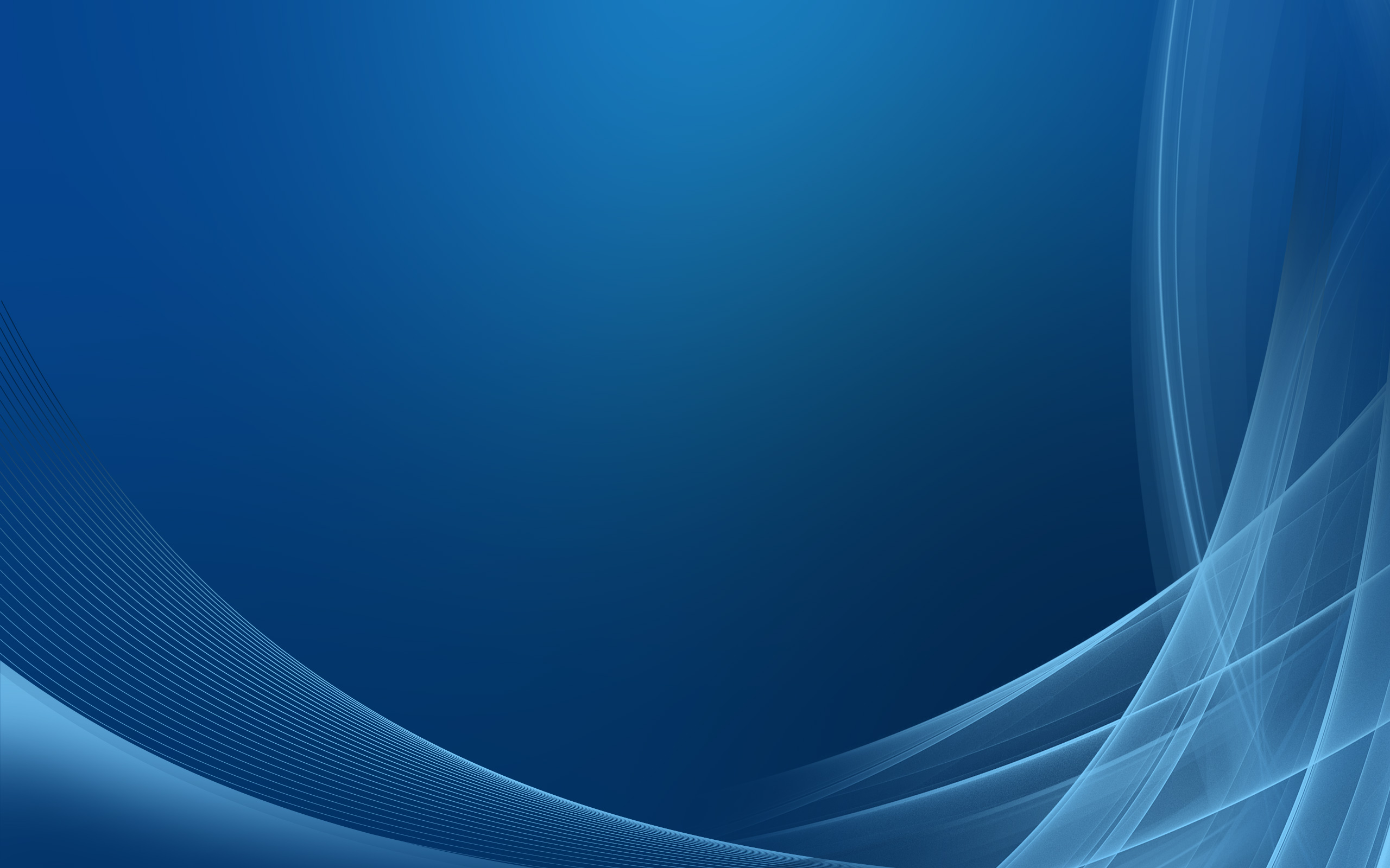 Blue Abstract Design Wallpaper
